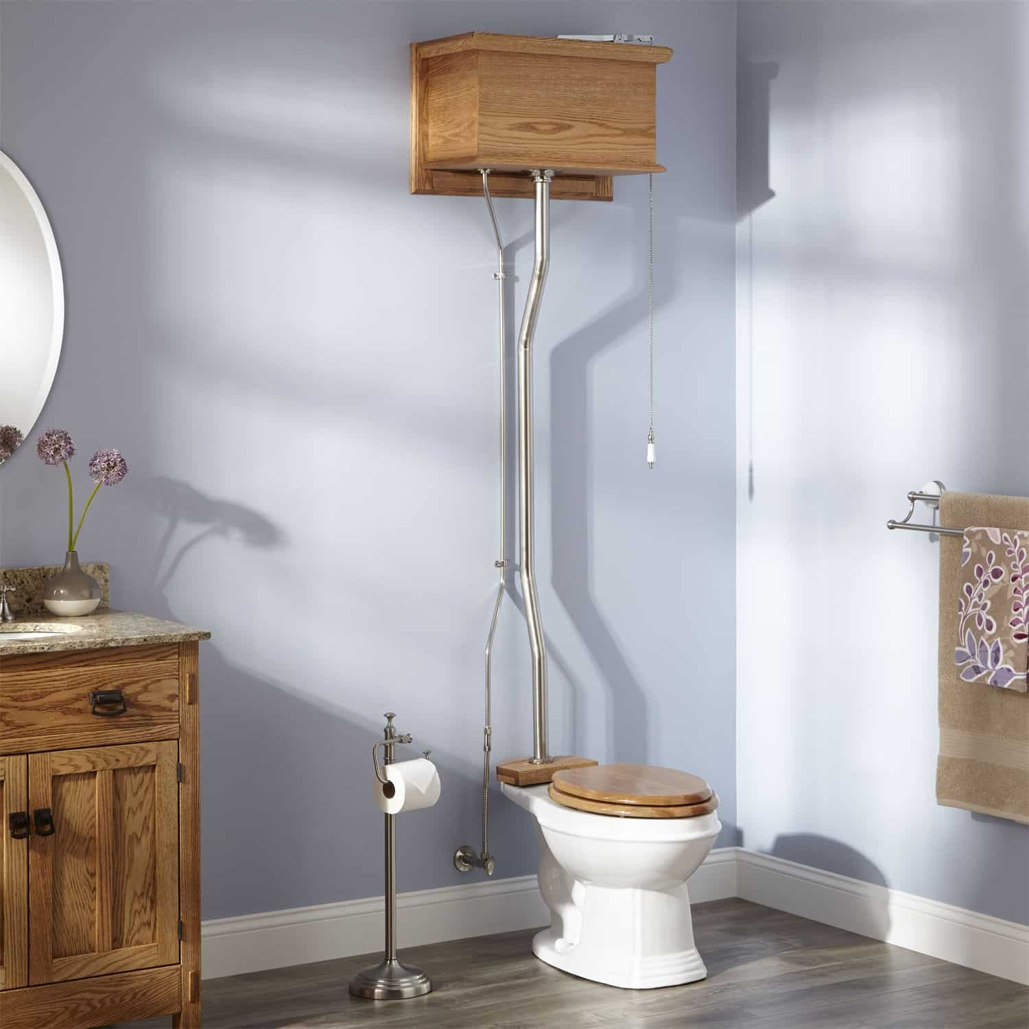 Best toilet on the market reviews - High Tank Pull Chain Toilets