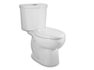 American Standard 2889.216.020 Dual Flush Round Front Toilet