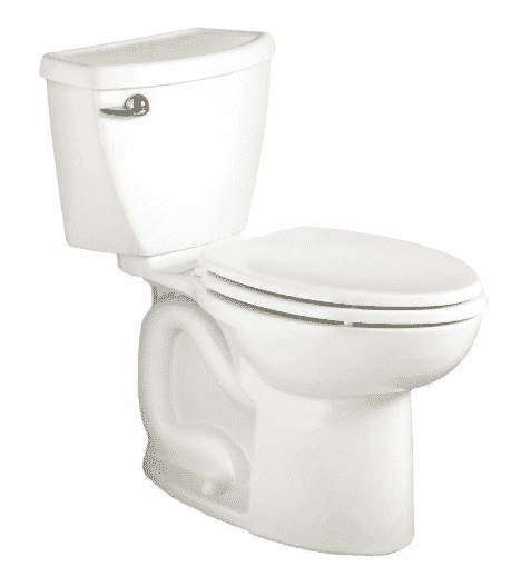American Standard Cadet 3 Right Height Elongated Flowise Two-Piece High Efficiency Toilet