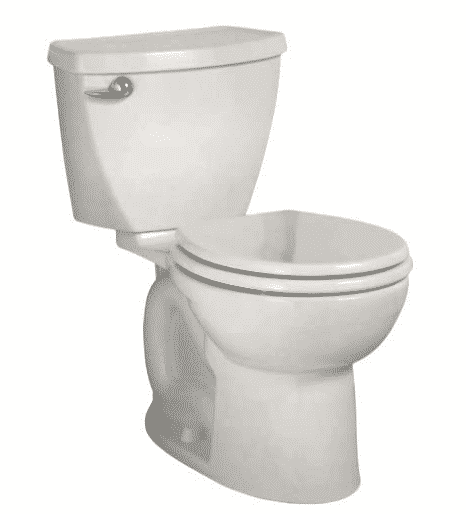 American Standard Cadet 3 Right Height Round Front Flowise Two-Piece High Efficiency Toilet