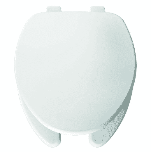 Church 595 000 Elongated Open-Front Toilet Seat