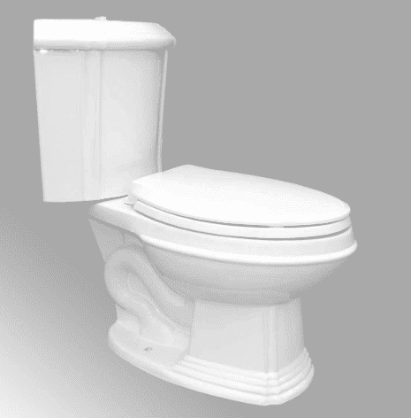 Sheffield Corner 2-Piece 0.8 GPF 1.6 GPF WaterSense Dual Flush Elongated Toilet