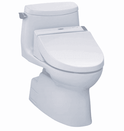 TOTO MW6142044CUFG#01 WASHLET+ Carlyle II 1G One-Piece Elongated