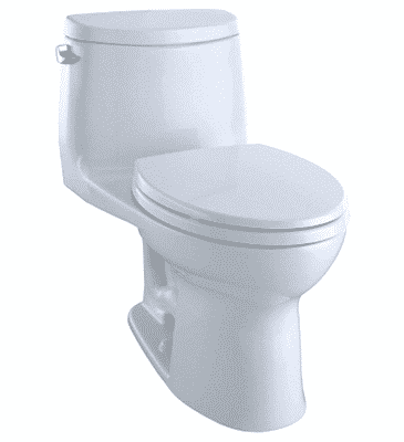 Toto MS604114CEFG#01 Ultramax II Het Double Cyclone Elongated One-Piece Toilet