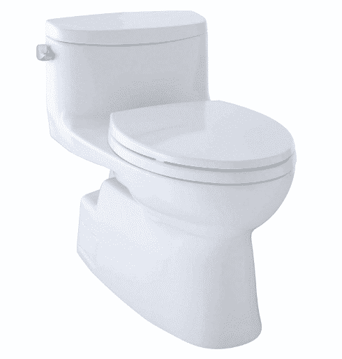 Toto MS644114CEFG#01 Carolina-2 One-Piece High-Efficiency Toilet
